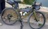 Vol de deux vélos gravel kaki
