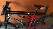 Vol Vtt Topbike 50s mountain rouge, blanc et noir